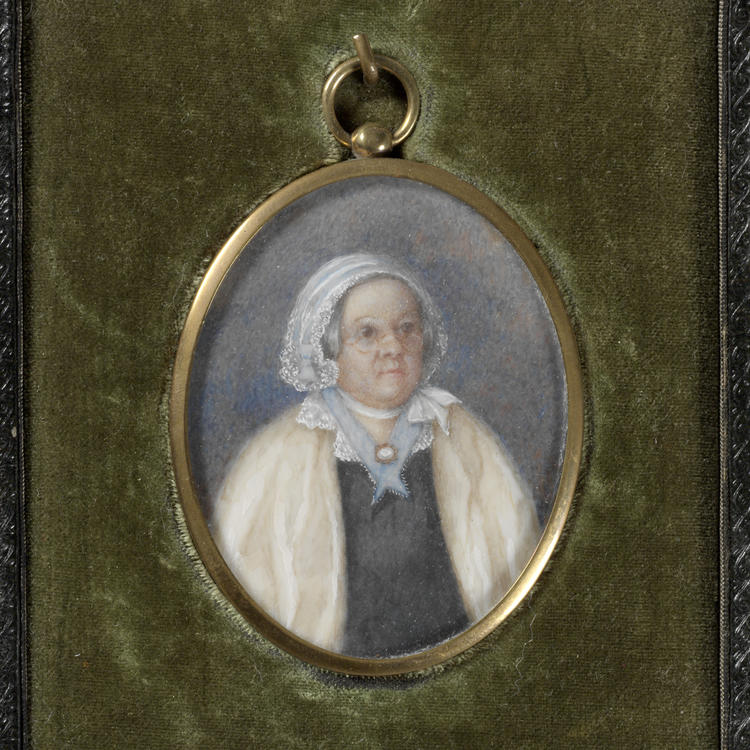 portrait of woman from 1835
