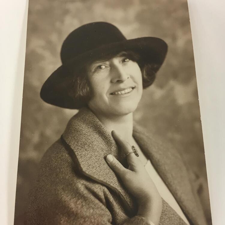 Portrait of May Gibbs