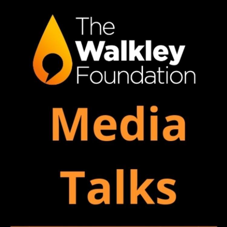 Walkley Media Talks written logo on black background