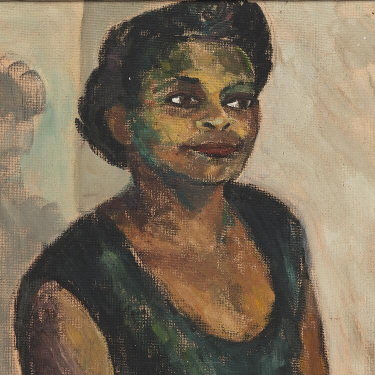 Portrait of Faith Bandler by Ella Russell