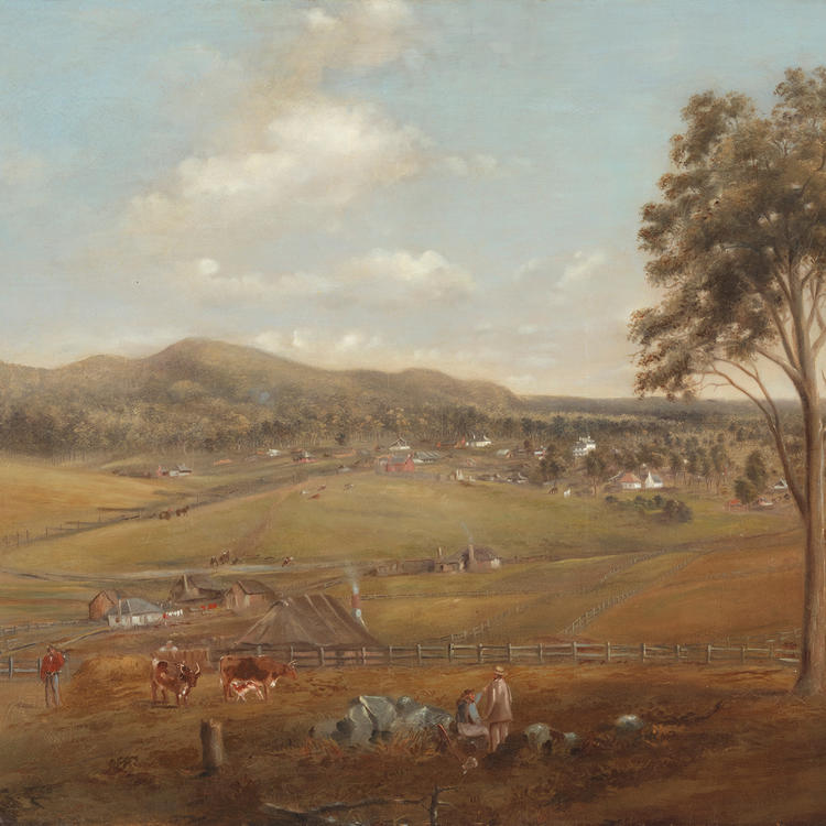 [View of Tenterfield] / Joseph Backler