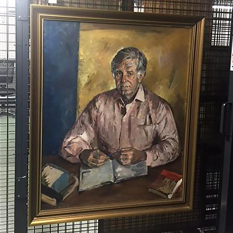 Morris West by Judy Cassab, 1985, State Library of New South Wales