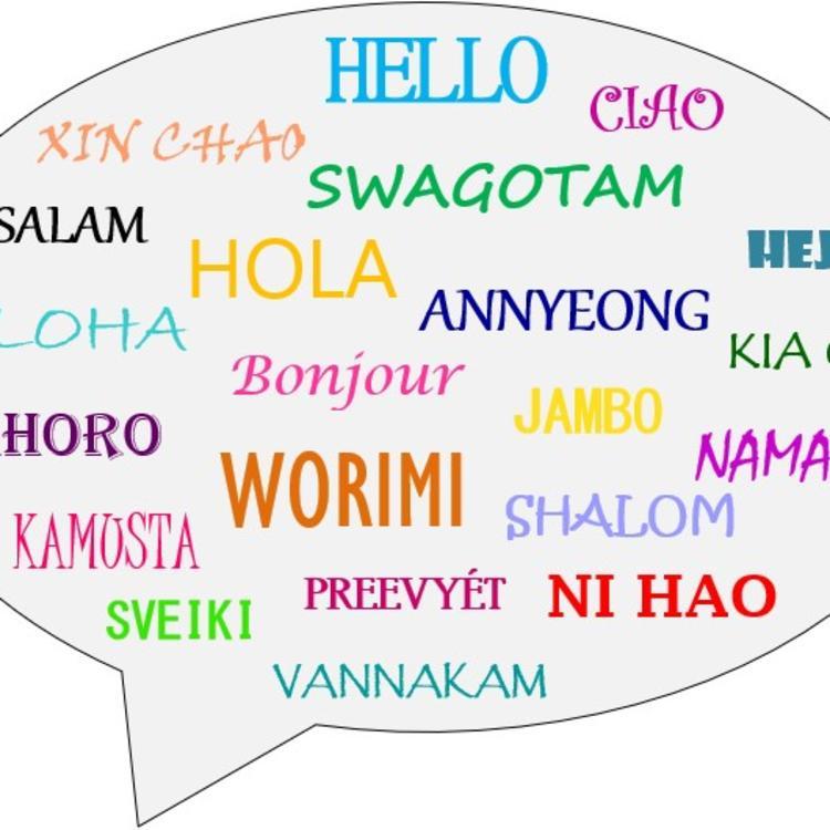 Mother Language Day Logo