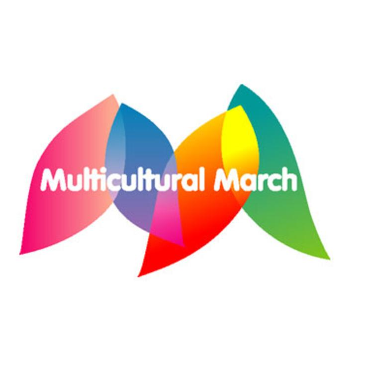 Multicultural March logo