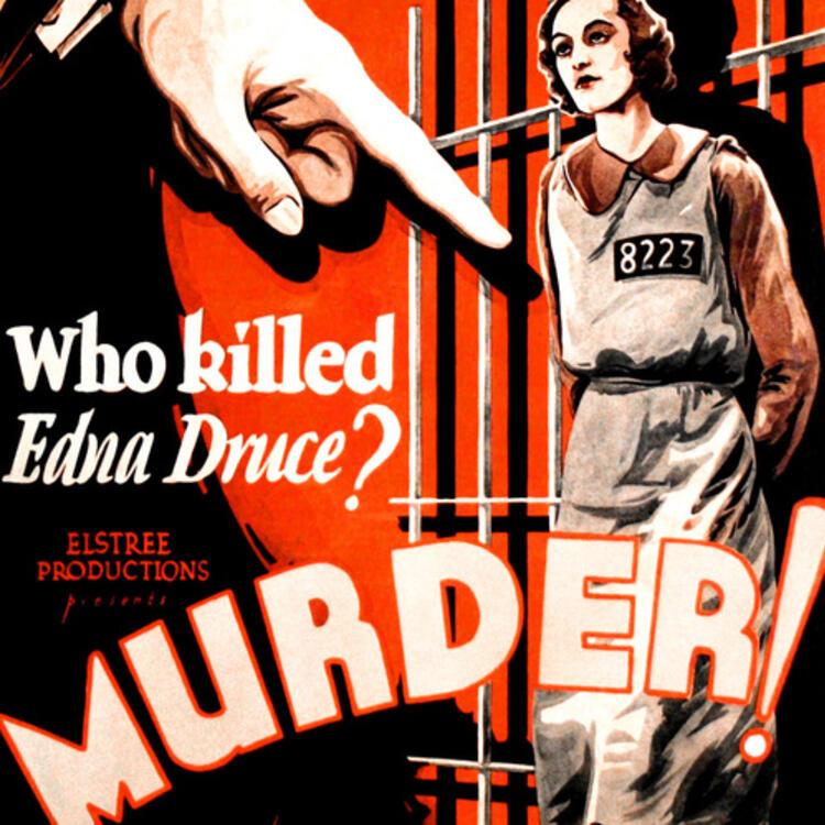 Poster image for film, Murder