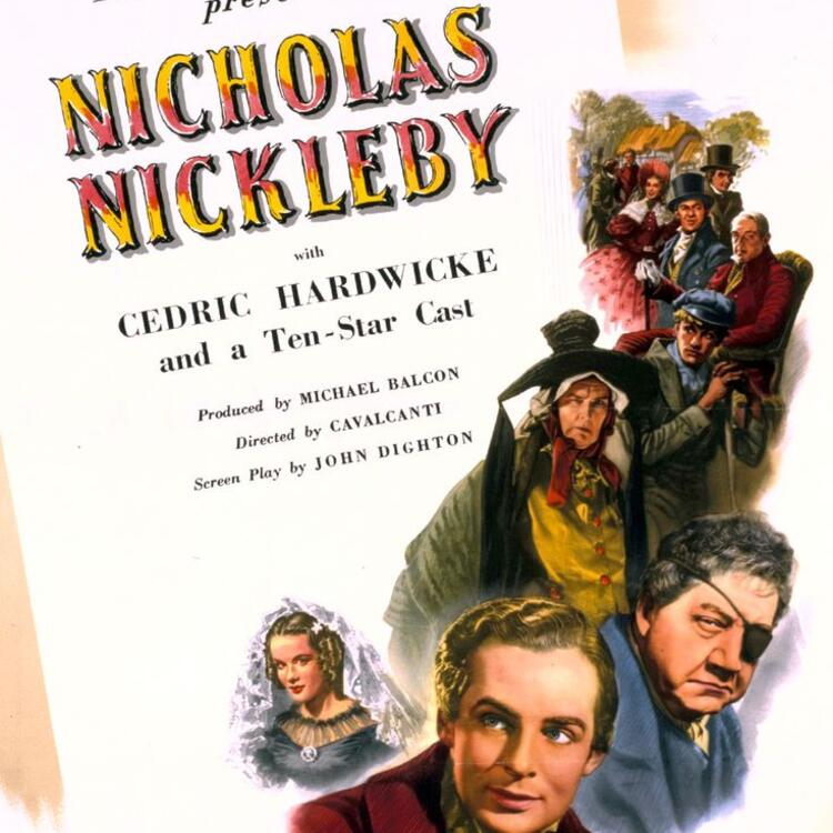 Poster image for 1947 film, Nicholas Nickleby
