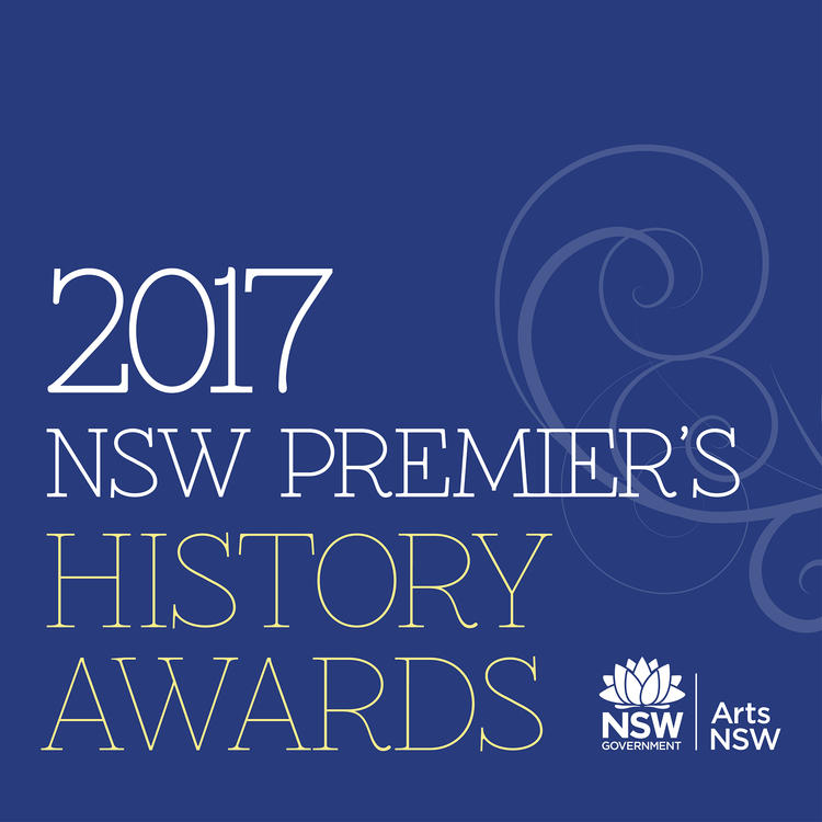 State Library visual Identity for Premier's History Awards