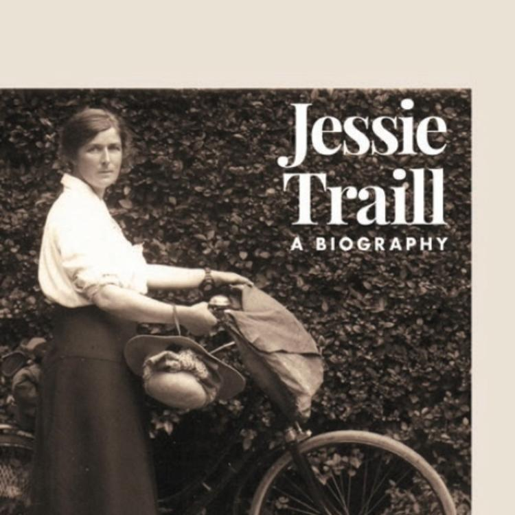 Jessie Traill a biography book cover by Jo Oliver