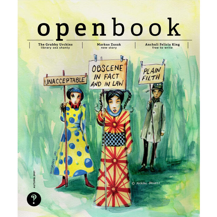 Openbook Autumn 2021 cover
