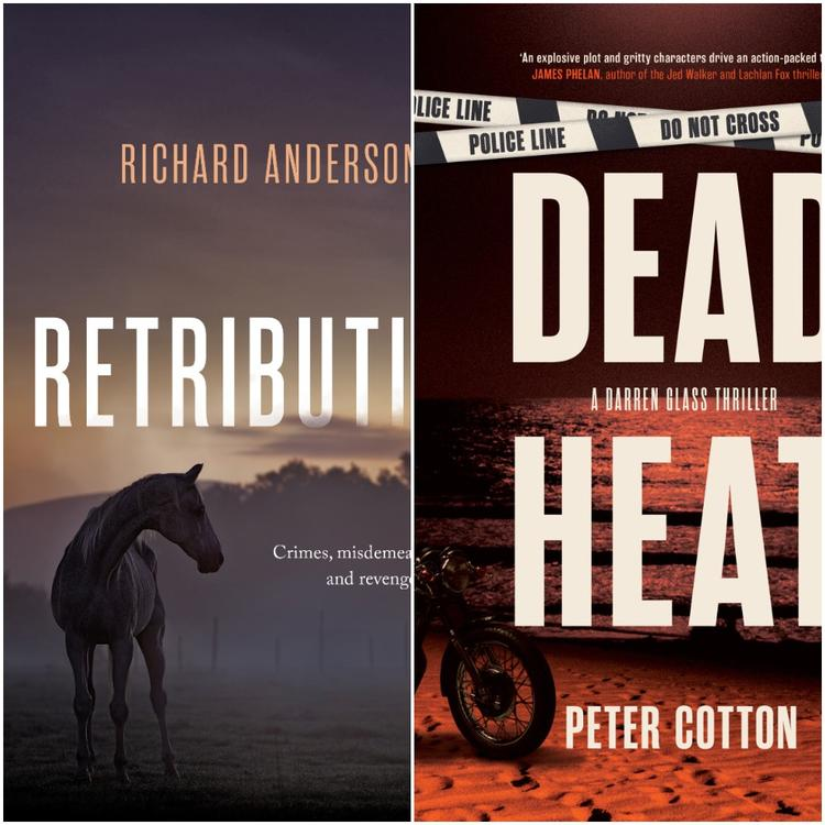 Peter Cotton and Richard Anderson book covers