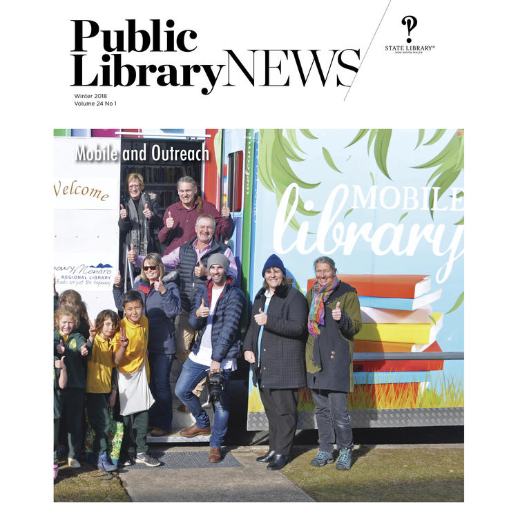 Public Library News Winter 2018 front cover