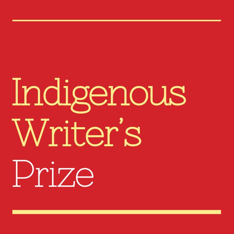 Award button for Indigneous Writer's Award