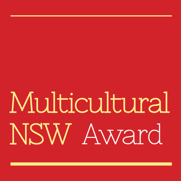 Multicultural NSW Award button