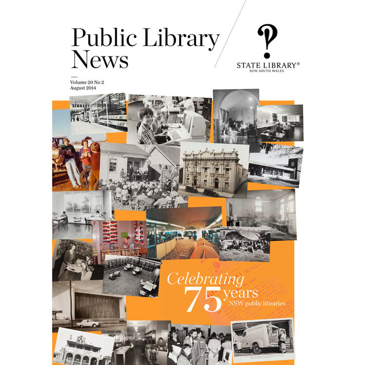 75th anniversary brochure of public libraries