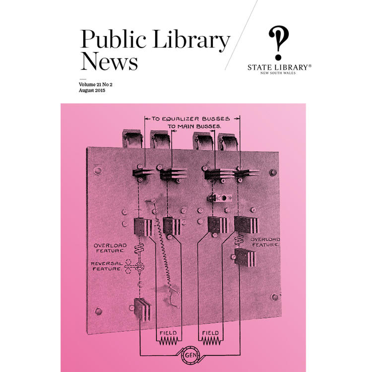 Public Library News August 2015 cover