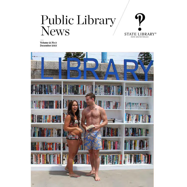 Public Library News December 2015 cover