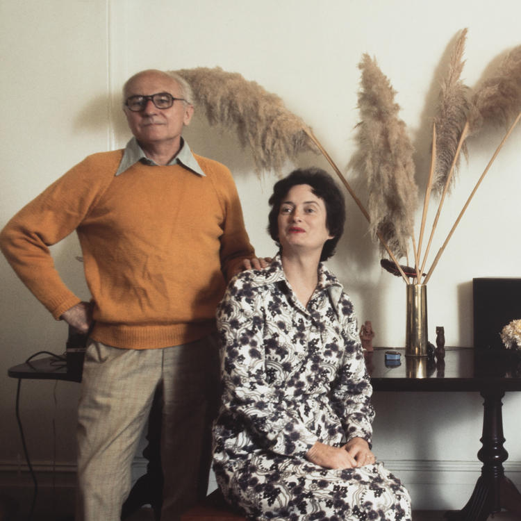 Donald and Myfanwy Horne