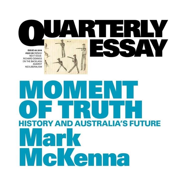 Quarterly Essay Cover