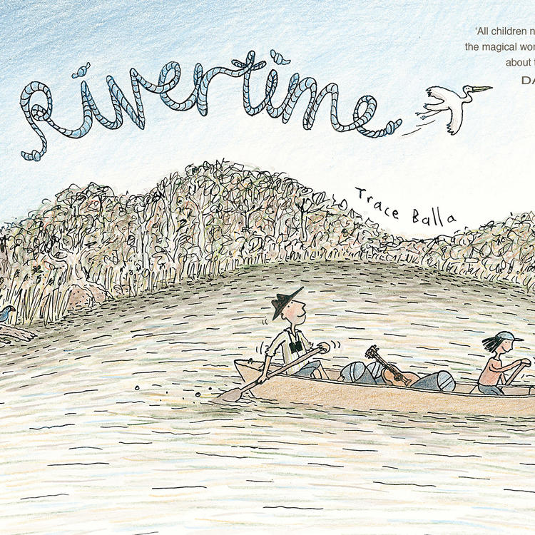 Book cover of Rivertime by Trace Balla