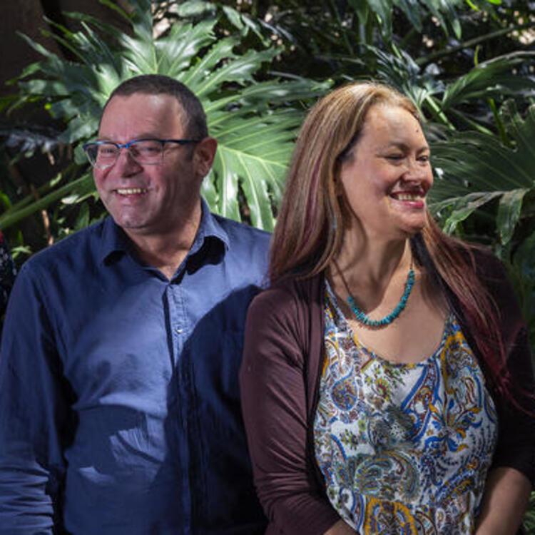Ronald and Melissa curators