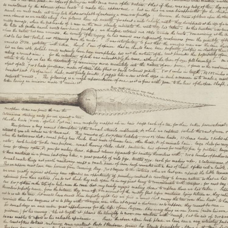 DETAIL FROM SERIES 05: JOHN SEPTIMUS ROE LETTERS