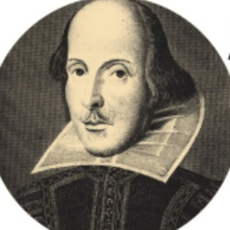 Shakespeare image in the Shakespeare 400 State Library ID