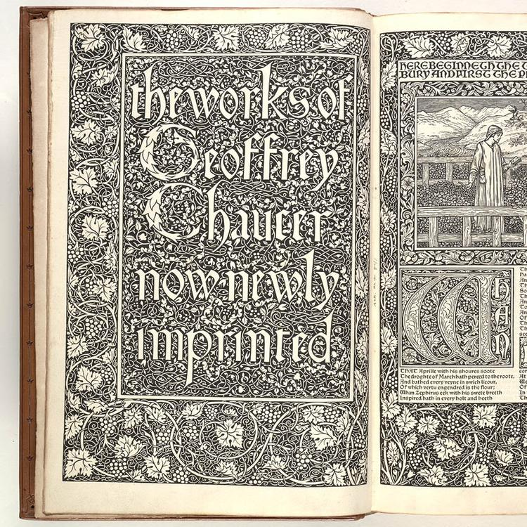 The works of Geoffrey Chaucer now newly imprinted.
