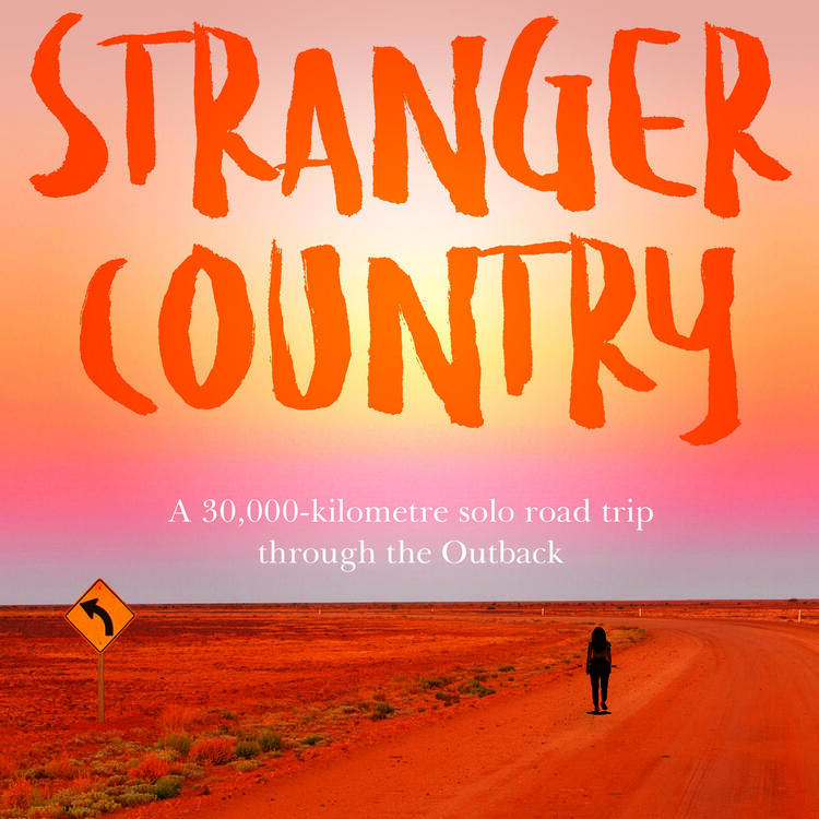 book cover for Strange Country