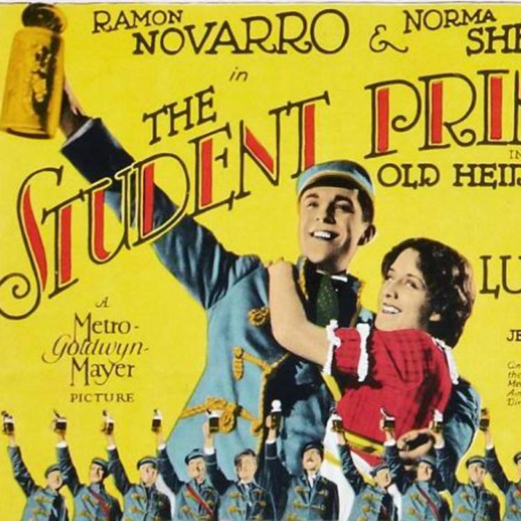 Poster image for the film, Student Prince in Old Heidelberg