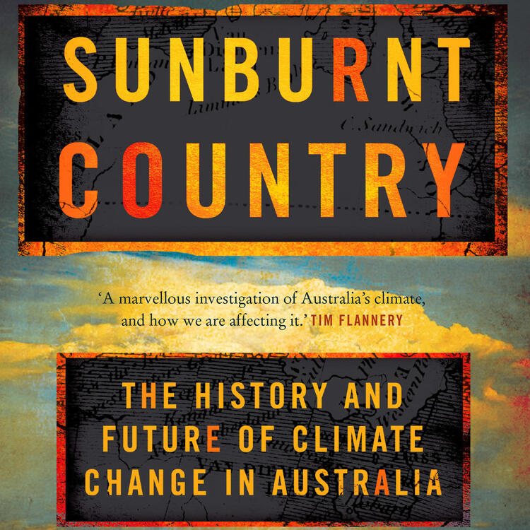 Book cover of Sunburnt Country