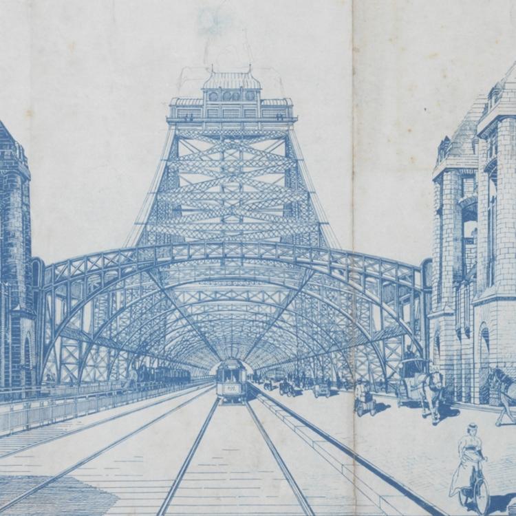 Sydney Harbour Bridge competition entry