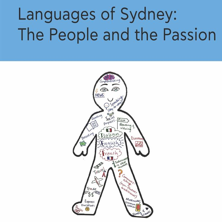 book cover for Languages of Sydney: The people and the passion