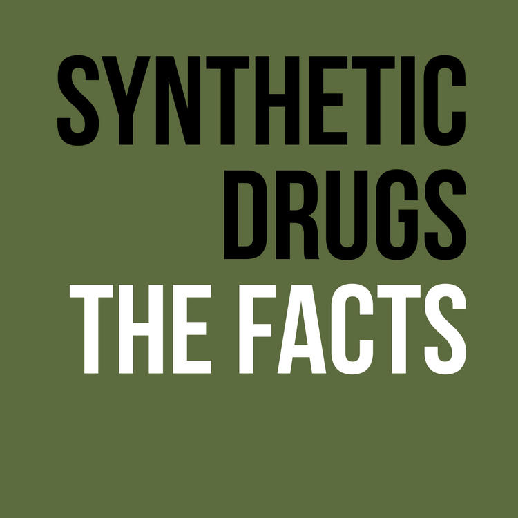 Synthetic drugs pamphlet cover