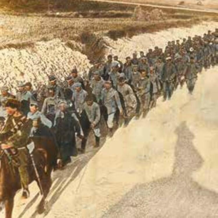 TYPES OF LUDENDORFF'S NEW ARMY