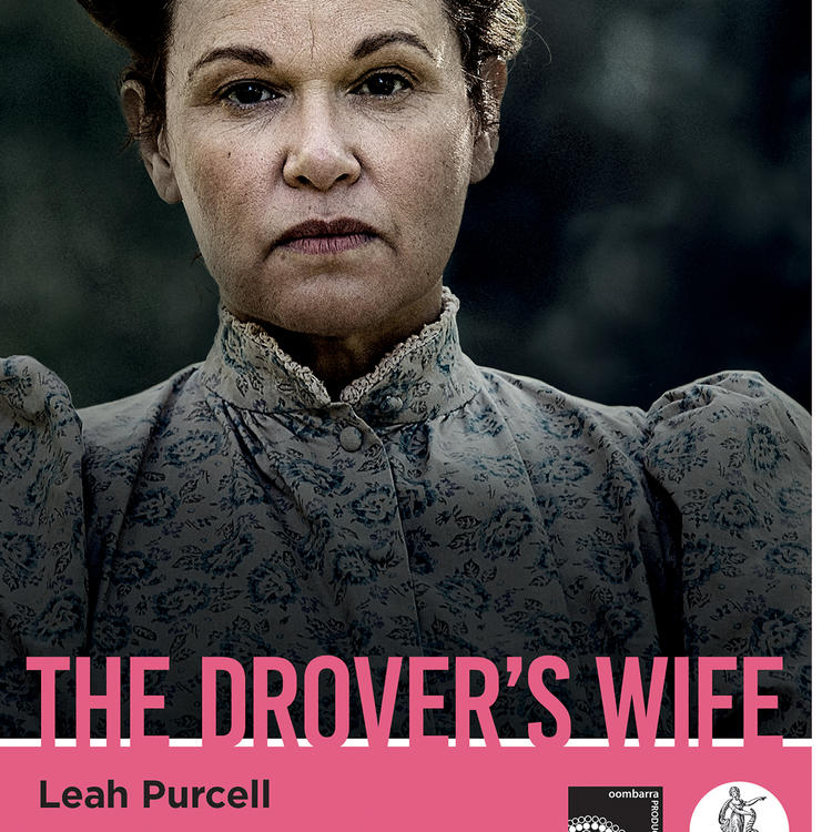 Book cover for The Drover's Wife by Leah Purcell