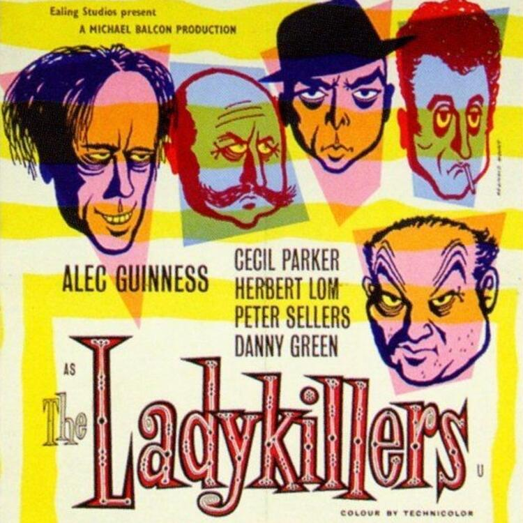 Movie poster for The Lady Killers