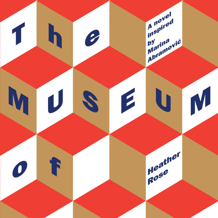 Book Cover fro The Museum of Modern Love by Heather Rose