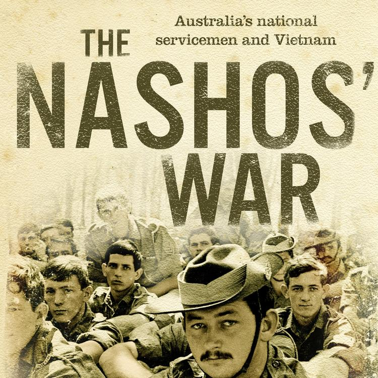 Book cover of b.	The Nashos' War by Mark Dapin