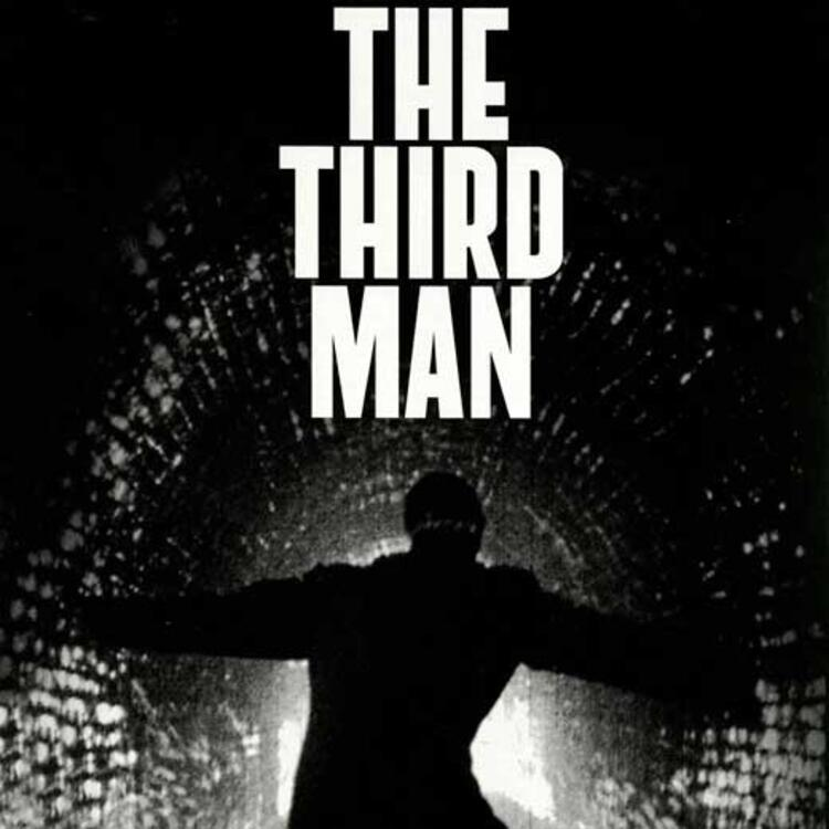 Black and white poster image for film the third man