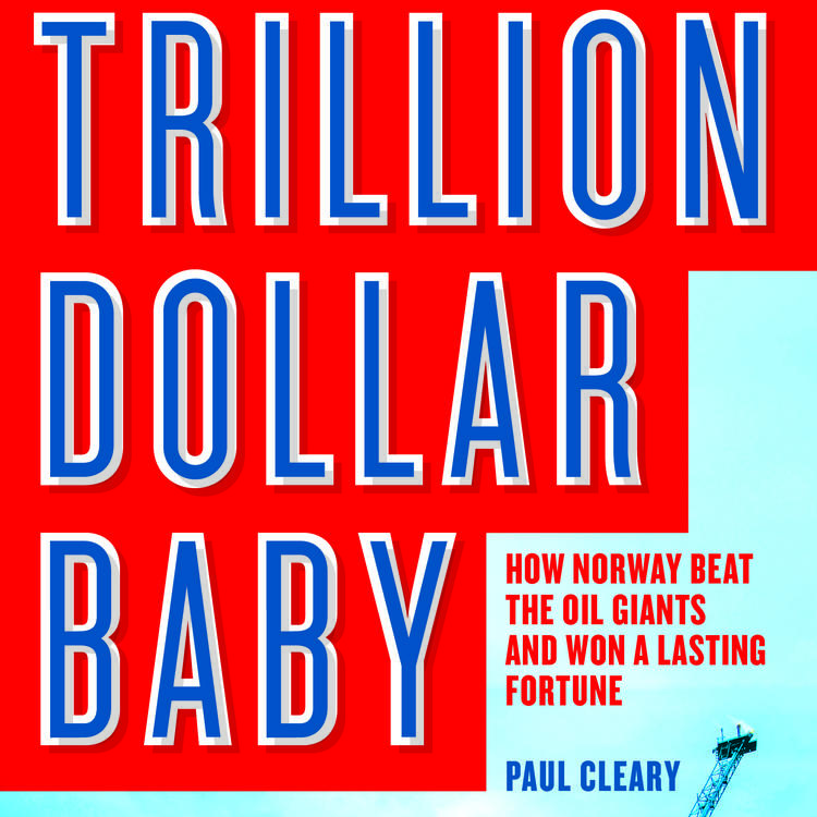 Cover image of Trillion Dollar Baby by Paul Cleary