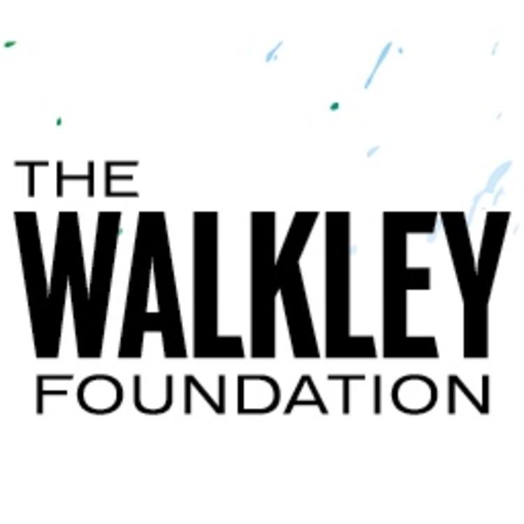 Walkley Foundation documentary award logo on blue background