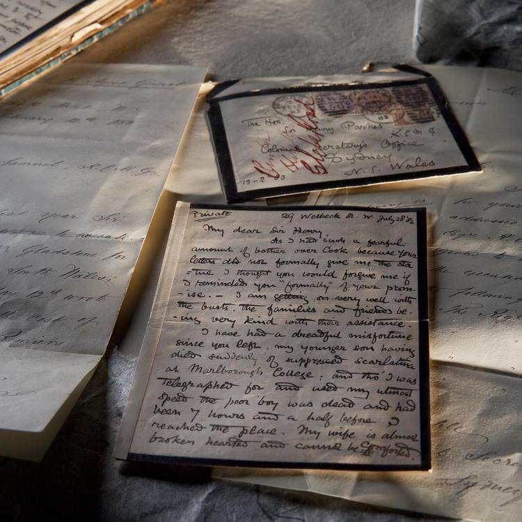 Image of parkes letters