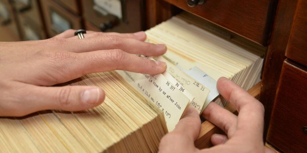 Card catalogues