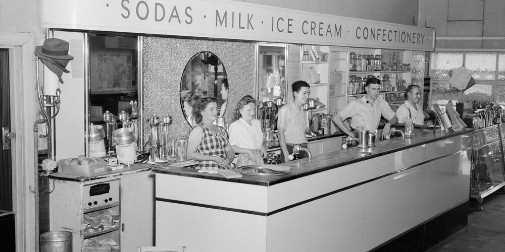 Soda shop, Penrith