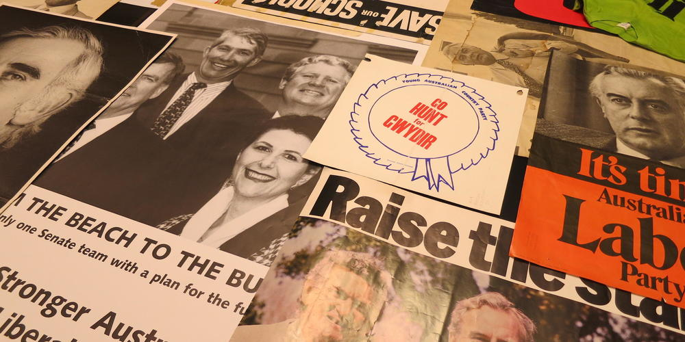 A selection from the Library's collection of election posters