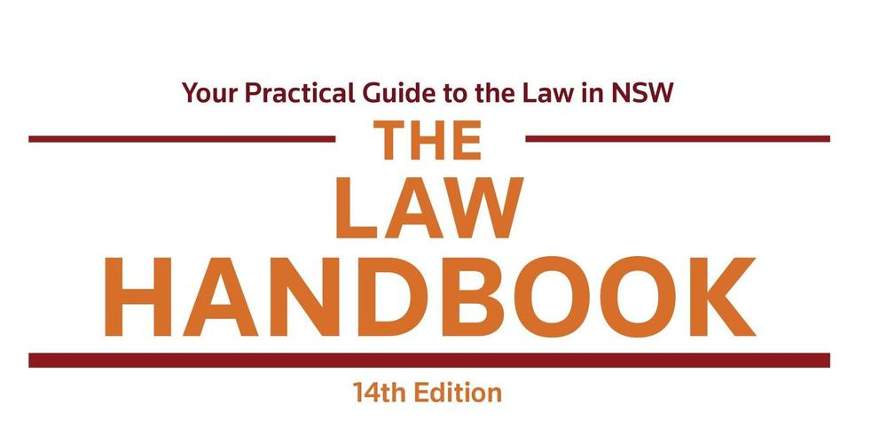Cover of Law Handbook