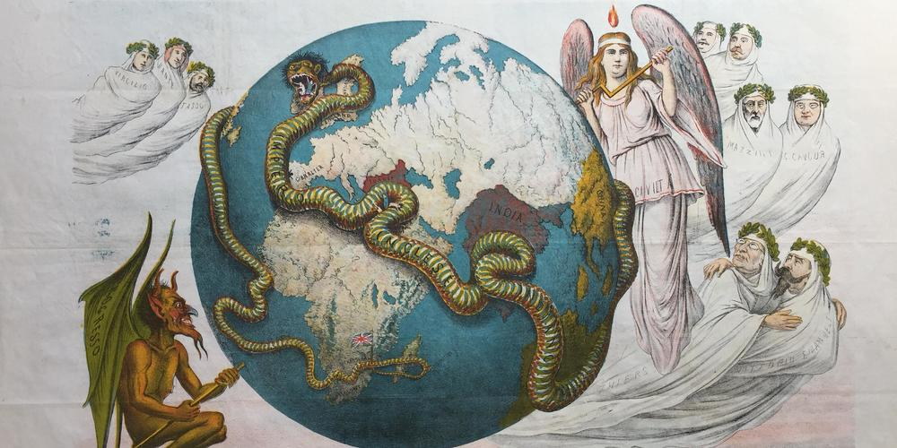 An allegory of the English Empire