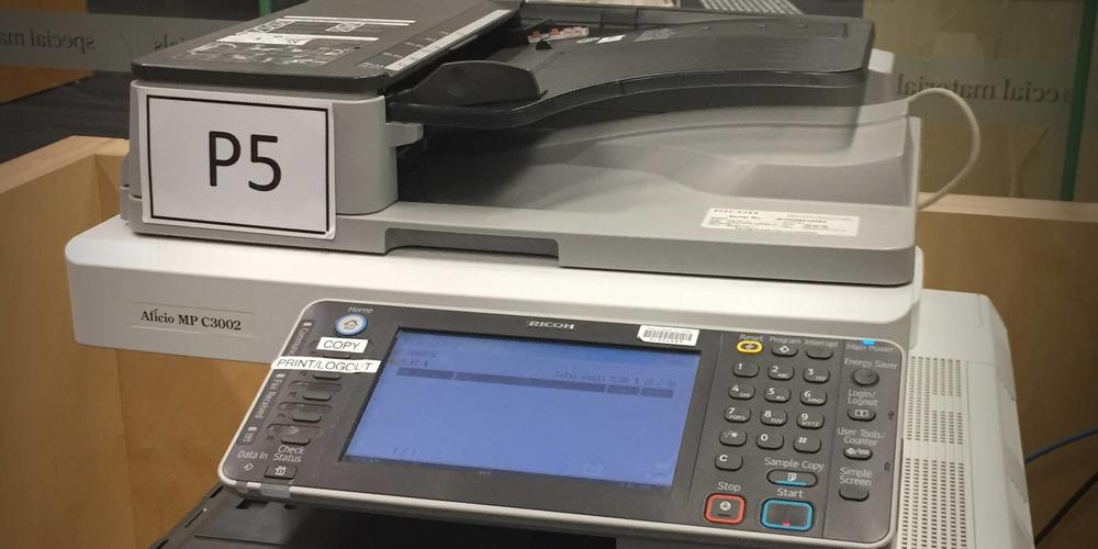 reading room mfd printer scanner