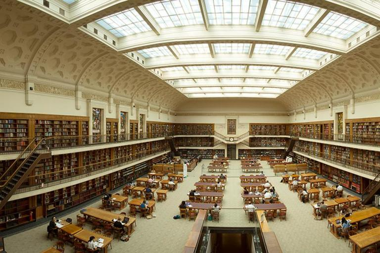interior of the Mitchell Library Reading Room