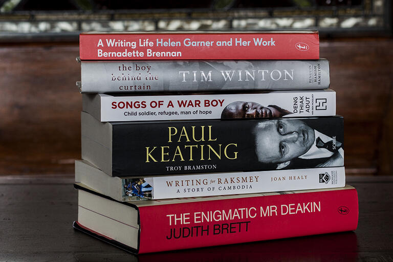 Books shortlisted for the National Biography Award 2018